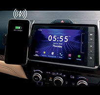 New Honda City Car Accessory - Wireless Charger (With Smartphone Holder)*