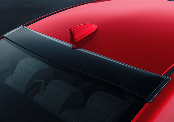 New Honda City Car Accessory - Roof End Visor