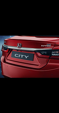 Honda City New Model 2020 Chrome Kit - Admirer - Trunk Garnish