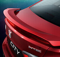 New Honda City Car Accessory - Trunk Spoiler With LED