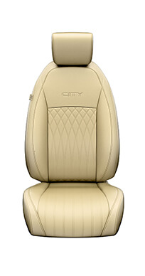 New Honda City Car Accessory - Seat Cover Diamond Pattern