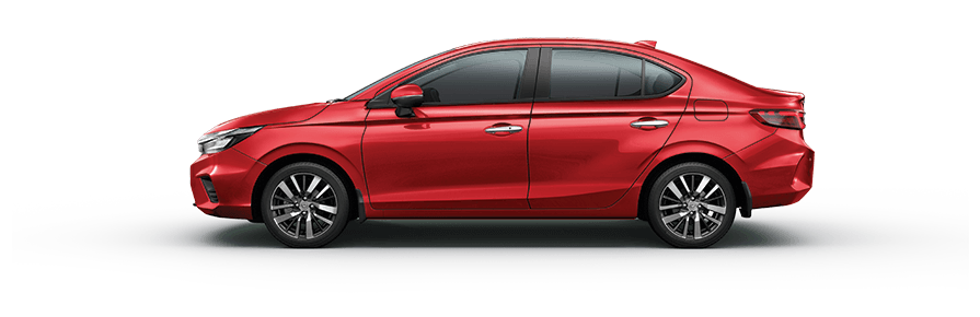 New Honda City 2020 Colour - Radiant Red Metallic