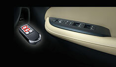 New Honda City Convenience - All Auto Power Window With Keyless Remote Operation (Incl. Sunroof)
