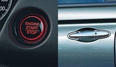 New Honda City Convenience - Engine Start/Stop With Touch Sensor Based Smart Keyless Access