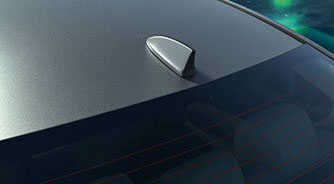 New Honda City 2020 Exterior - Shark Fin Antenna
