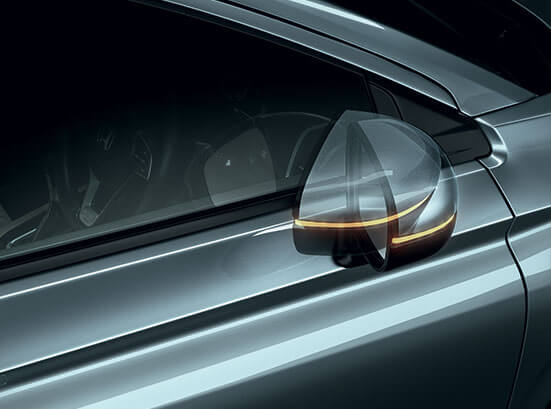 New Honda City 2020 Exterior - Auto Folding Door Mirror