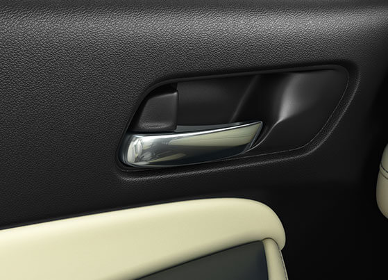 New Honda City 2020 Interior - Chrome Inner Door Handles