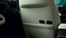 New Honda City Space & Utility - Seat Back Pocket With Smartphone Sub Pockets