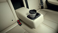 New Honda City Space & Utility - Rear Armrest With Cup Holders