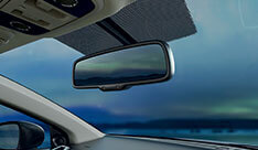 New Honda City Car Safety - Auto Dimming Interior Mirror