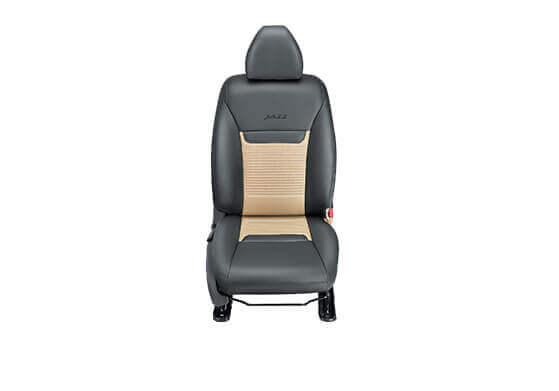 New Honda Jazz Accessory - Seat Cover Black with Beige Horizontal Stitch