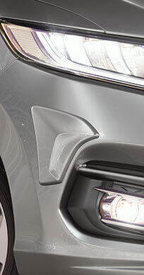 New Honda Jazz Accessory - *Front Bumper Corner Moulding