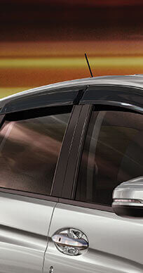 New Honda Jazz Accessory - Door Visor