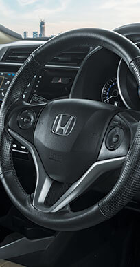 New Honda Jazz Accessory - Steering Wheel Cover