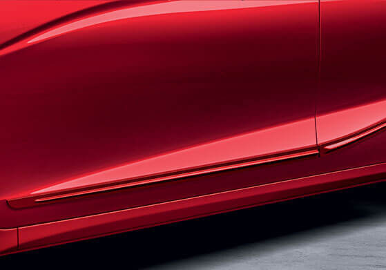New Honda Jazz Accessory - *Body Side Moulding