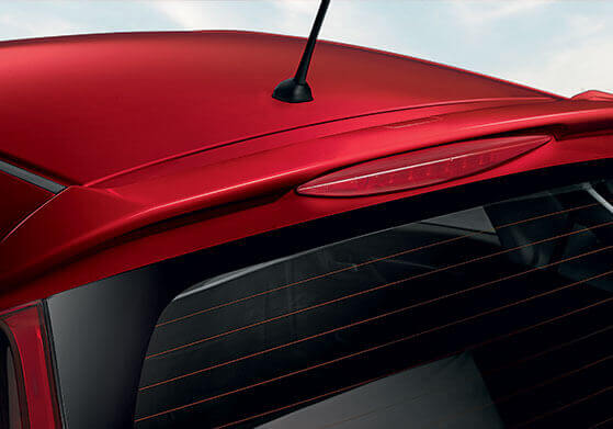 New Honda Jazz Accessory - Tail Gate Spoiler