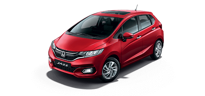New Honda Jazz Colour - Radiant Red Metallic