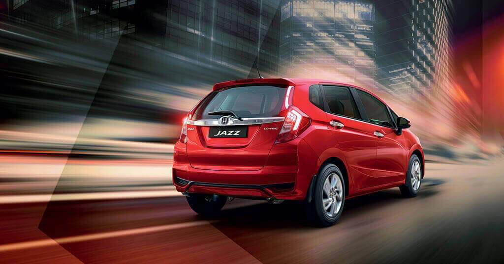 New Honda Jazz Car - Back & Side View Image