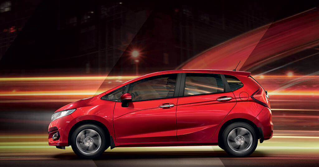 New Honda Jazz Car - Side View Image