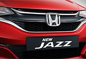 New Honda Jazz Exterior - Chrome Accentuated High Gloss Black Grille