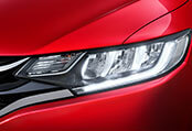 New Honda Jazz Exterior - Advanced LED Headlamps (Inline Shell) with DRL