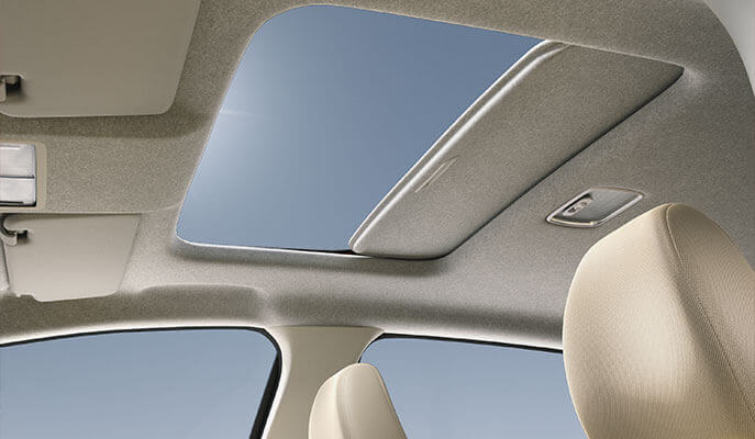 New Honda Jazz Exterior - Segment-Exclusive One-Touch Electric Sunroof