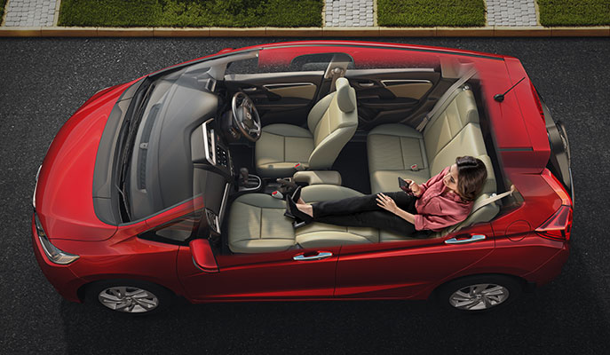 New Honda Jazz Interior - Best-In-Class Space