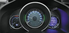 Honda Jazz Interior - Advanced Multi-Info Combi Meter
