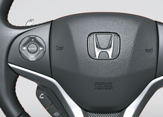 Honda Jazz-Steering Mounted Audio, Hands-Free Telephone Controls & Paddle Shift