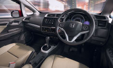 New Honda Jazz Interior - Tilt Steering