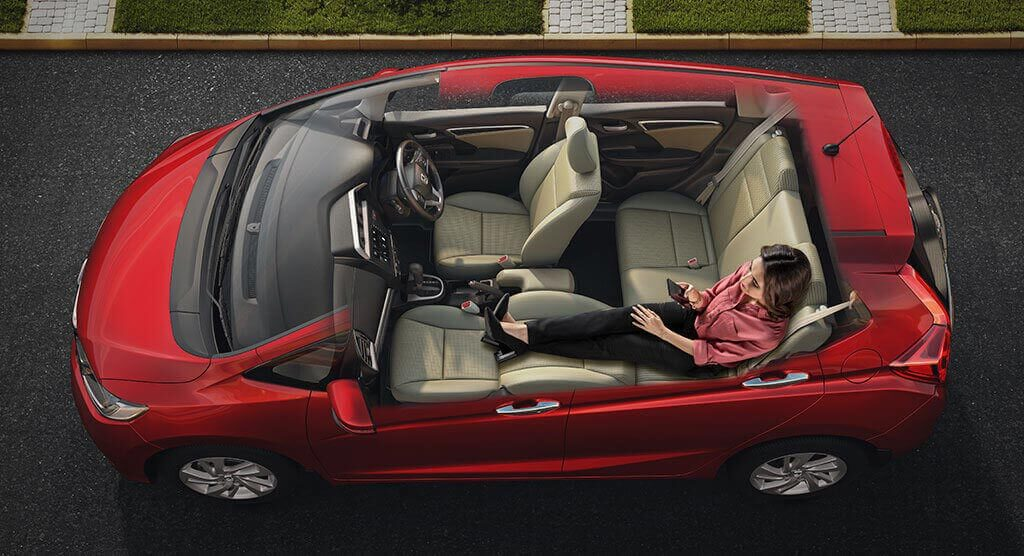 Honda Jazz Interior - Best-In-Class Space