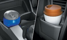 Honda Jazz New Model Space & Utility - Central Console Cup Holders
