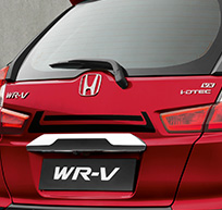 Honda WRV Accessory - Rear Body Decal - Black