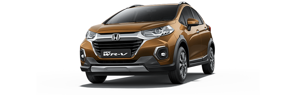 New Honda WRV Colour - Premium Amber Metallic