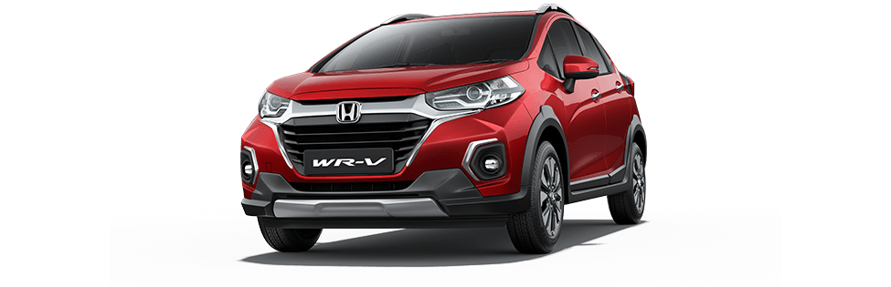 New Honda WRV Colour - Radiant Red Metallic