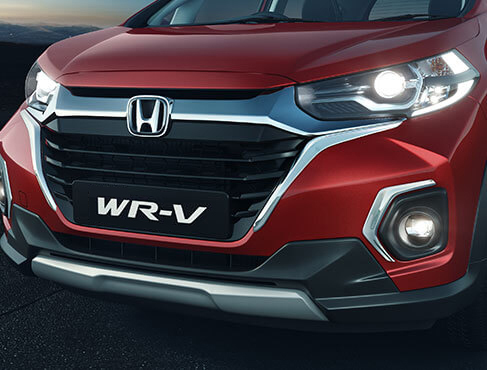 New Honda WRV 2020 Exterior - New Bolder Solid Wing Chrome Grille