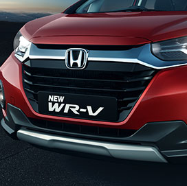 Honda-WRV-Solid Wing Chrome Grille