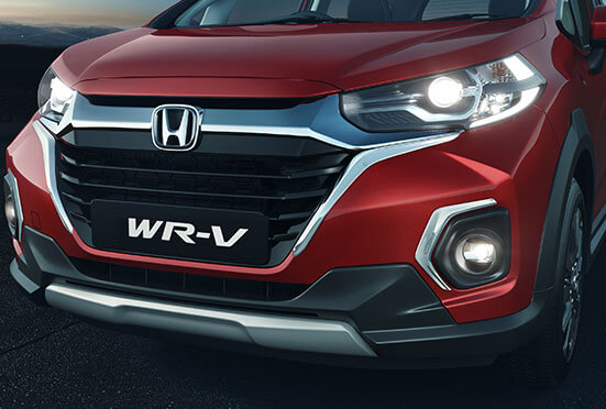 Honda WRV-Solid Wing Chrome Grille