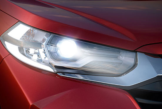 Honda WRV Exterior - Headlamp with LED DRL & Position Lamp