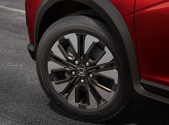 Honda WRV Exterior - R16 Gunmetal Finish Alloy Wheel