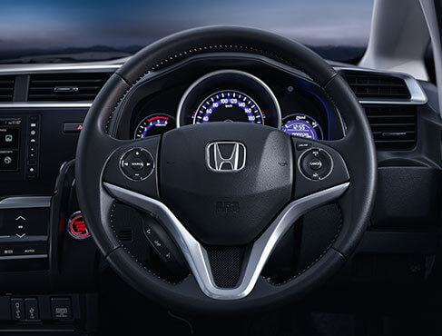 Honda WRV New Model Interior - Action Packed Steering Wheel (Audio, Voice, Handfree & Cruise Control  Switches
