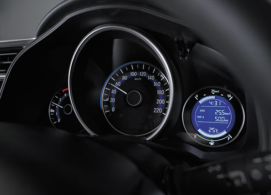 Honda WRV Interior - Advanced Multi-Information Combimeter EcoAssist Meter with In-built Ambient Meter Rings