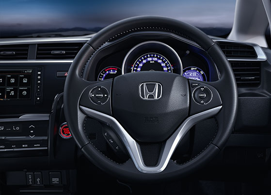 Honda WRV Interior - Action-Packed Steering Wheel (Audio, Voice Command, Handsfree & Cruise Control*)