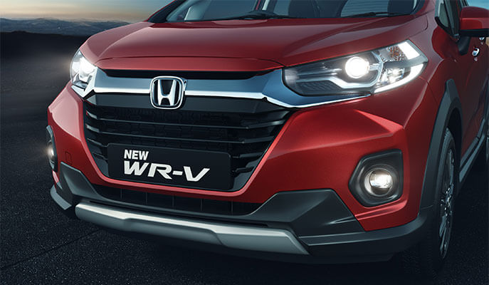 New Honda WRV Exterior - Bold Front Grille