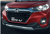 New WRV Exterior - Bold Front Grille