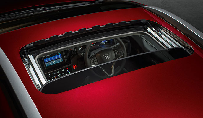 New Honda WRV Exterior - One-Touch Electric Sunroof