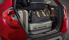 Honda WRV Interior - Ample Luggage Space