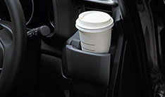Honda WRV New Model Interior - Driver's Cooled Cup & Smartphone Holder
