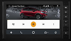 New Honda WRV - Media Player