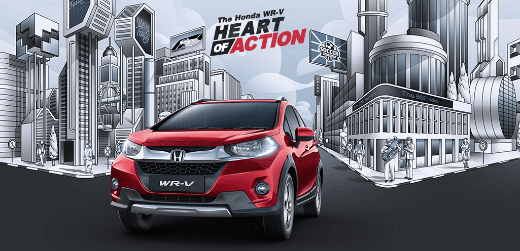 Honda WR-V Price, Features & Specifications in India | Honda Cars India